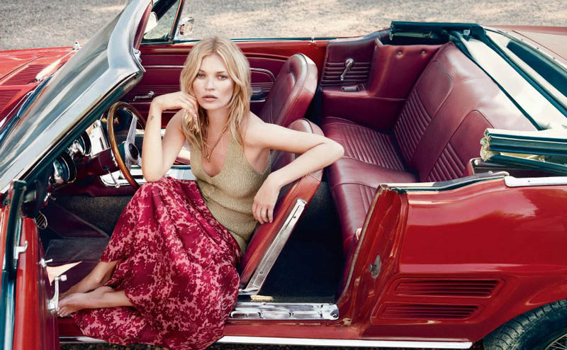 Kate Moss Fronts Liu Jo's Spring 2013 Campaign