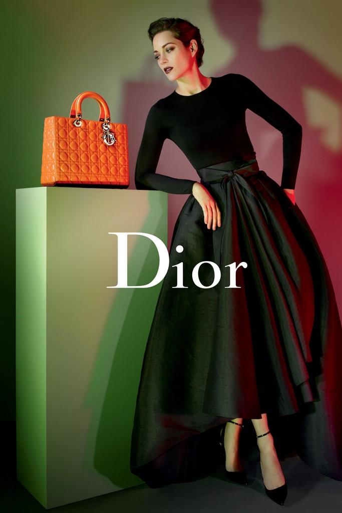 Marion Cotillard stars in Lady Dior pre-fall 2013 campaign