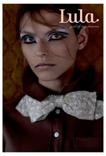 Karlina Caune and Codie Young Cover Lula's Spring/Summer Issue