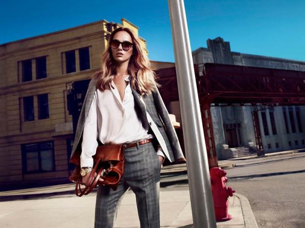 Karmen Pedaru Fronts Massimo Dutti's NYC Campaign by Hunter & Gatti