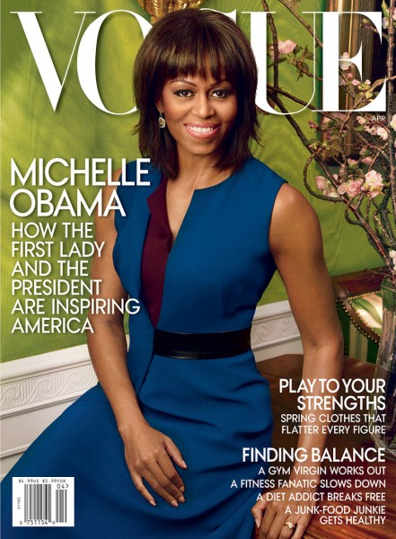 Michelle Obama Graces the April 2013 Cover of Vogue US