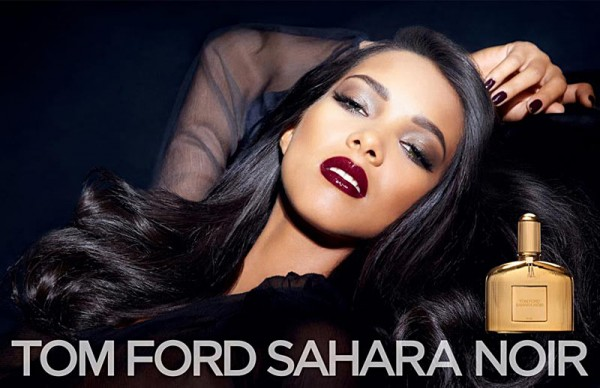 "Lais Ribeiro Stars in Tom Ford ""Sahara Noir"" Fragrance Campaign"