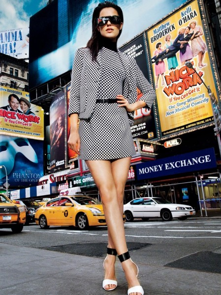 Simon Cave Captures Liza Golden in the Big Apple for Vogue Thailand March 2013