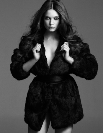 Sandrah Hellberg Sizzles In Cafe Magazine May 2013 by Martin Petersson