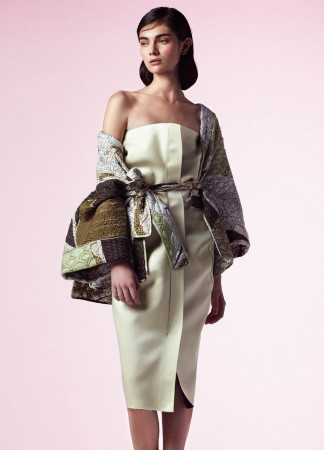 Antonina Vasylchenko Poses for Toby Knott In Ladylike Fashions for Tank Spring 2013