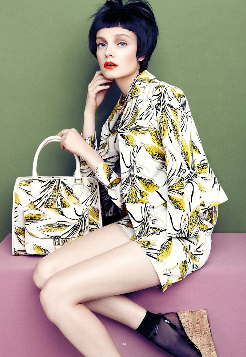 Nimue Smit Dons Retro Shades for Apropos Journal Spring/Summer 2013