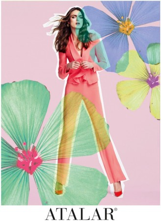 Sophie Vlaming is in Bloom for Atalar's Spring 2013 Campaign by Nihat Odabasi