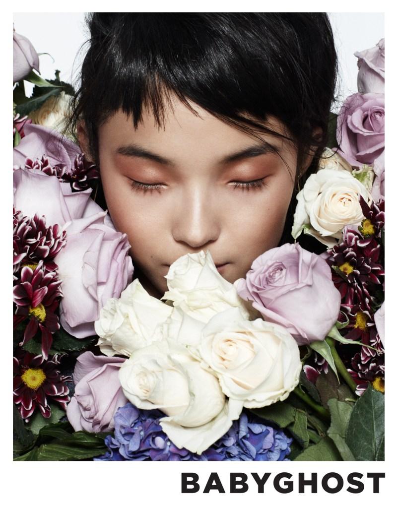 Xiao Wen Ju Fronts Babyghost's Spring 2013 Campaign by Aingeru Zorita