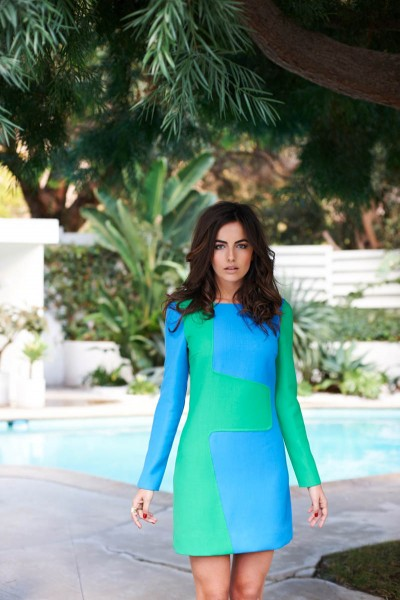 Camilla Belle Wears Michael Kors for Vogue Brazil April 2013 by Eric Guillemain