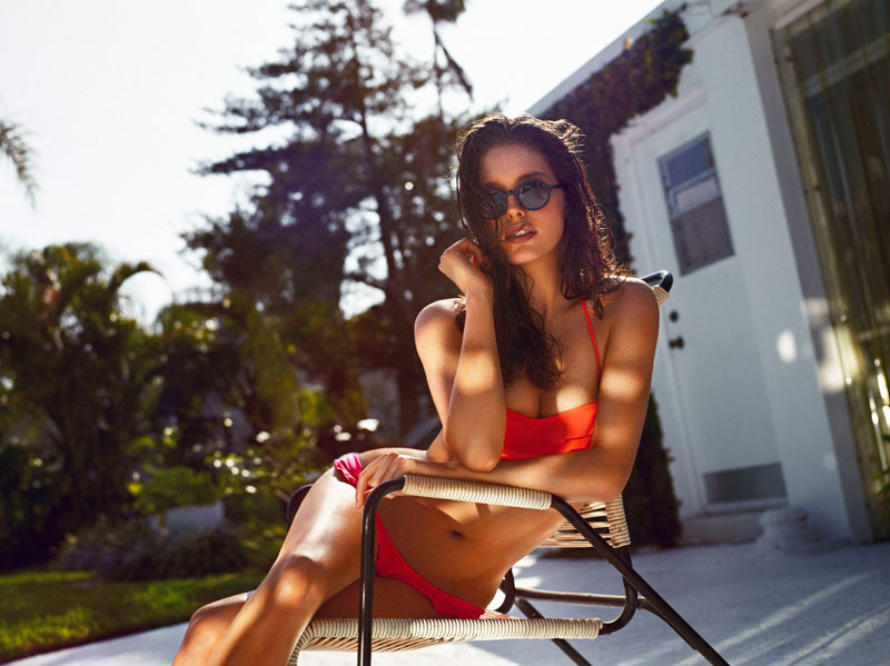 Emily DiDonato Sizzles in Oysho Swimwear 2013 Campaign by Matteo Montanari