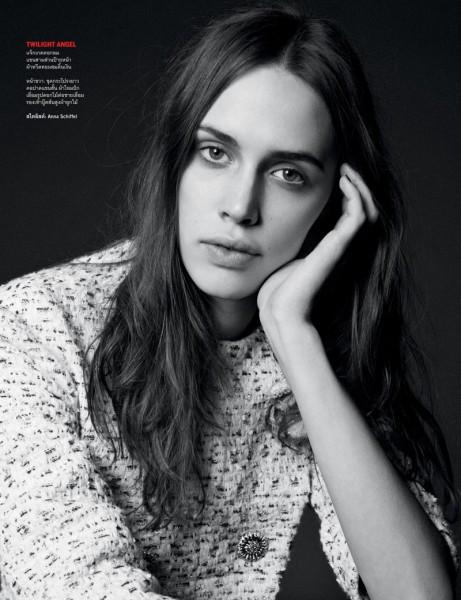 Ward Ivan Rafik Shoots Chanel Haute Couture for Vogue Thailand's April Issue