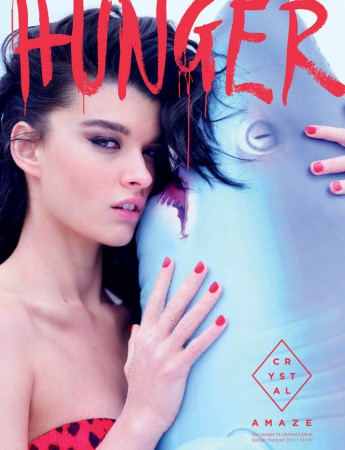 Crystal Renn Covers Limited Edition Hunger Magazine by Rankin