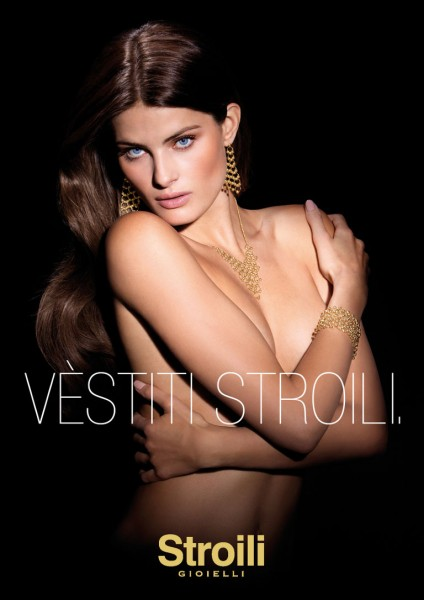 Isabeli Fontana Sparkles in Stroili Oro 2013 Campaign