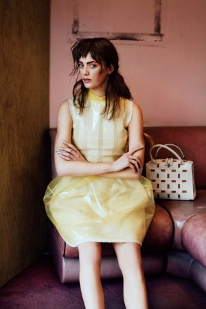 Jeff Hahn Shoots Milly Simmonds for Pastel-Filled SCMP Style Feature