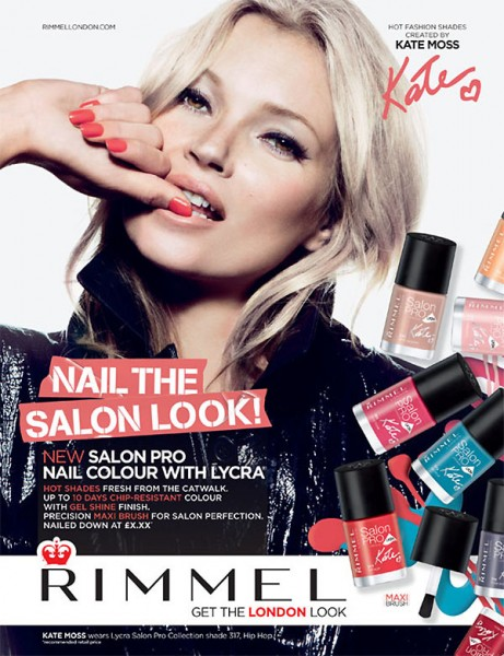 Kate Moss Shines in Rimmel London's Spring/Summer 2013 Campaign