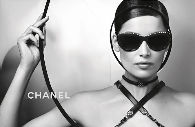 Laetitia Casta stars in Chanel Eyewear spring 2013 campaign