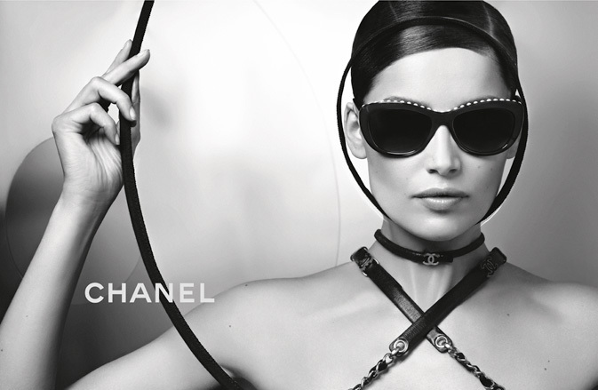 Laetitia Casta Stars in Chanel Eyewear Spring 2013 Campaign by Karl Lagerfeld