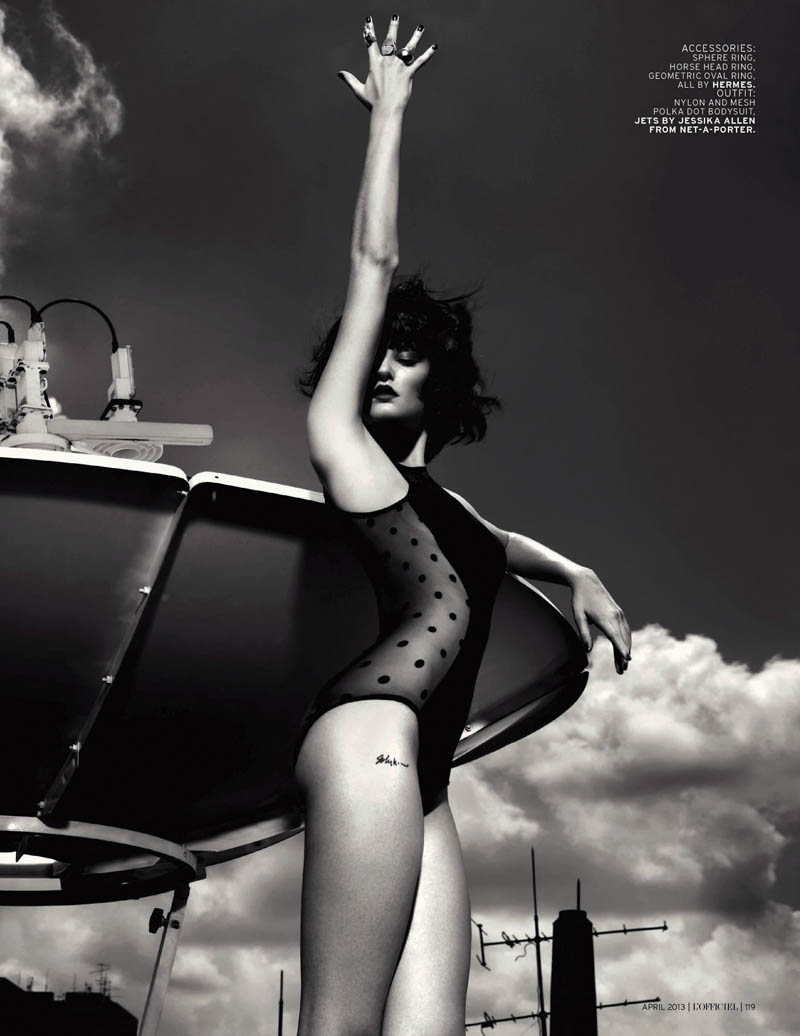 Kait Young Stars In L'Officiel Singapore April 2013 By Chuando & Frey