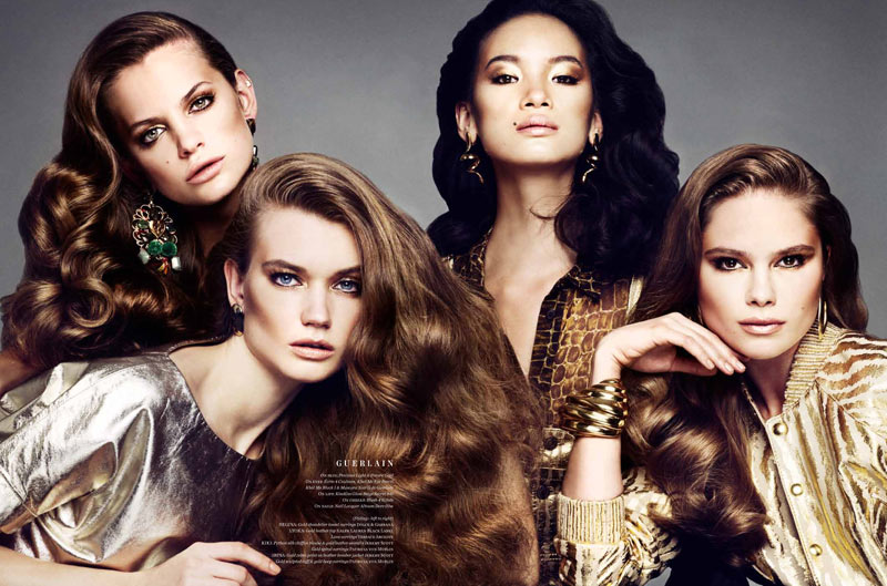 Marcus Ohlsson Captures Beautiful Faces for Vs. Magazine S/S 2013
