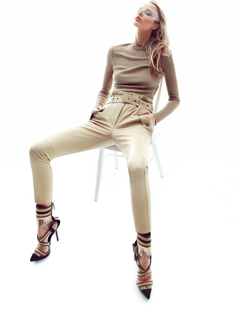Michaela Kocianova Poses for Branislav Simoncik in Top Fashion Magazine