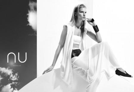 Ilse de Boer Models for NU's Spring 2013 Campaign by Nihat Odabasi