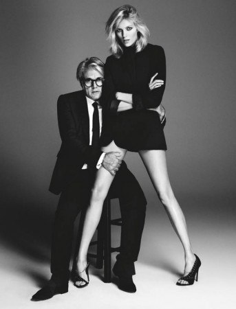 Anja Rubik Works It in Giuseppe Zanotti Campaign for Her New Capsule Collection