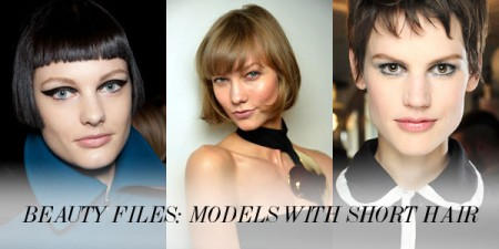 Beauty Files: 9 Models Who Rock(ed) Short Hair