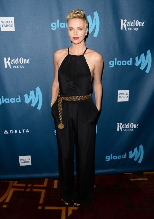 Charlize Theron Dons Jason Wu at the 24th Annual GLAAD Media Awards