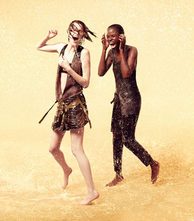 Ryan McGinley Shoots Jeneil Williams, Julia Frauche And Ashleigh Good For EDUN Spring 2013 Campaign