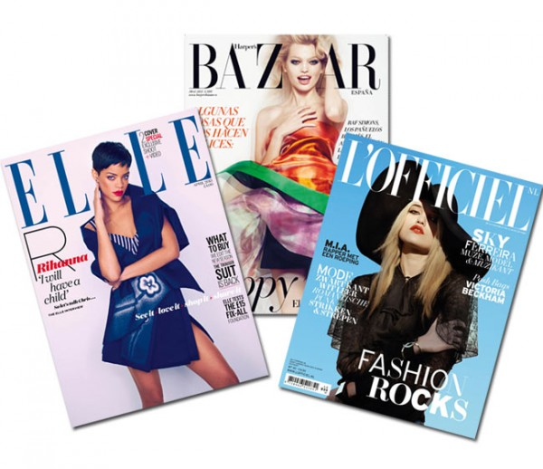 COVERED: The April 2013 Covers of Fashion Magazines Revisited