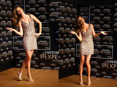 Gisele Bundchen Shows Off Her Tresses at Pantene P&G Event in Sao Paulo