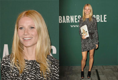 Gwyneth Paltrow Sports Isabel Marant at Her Book Signing