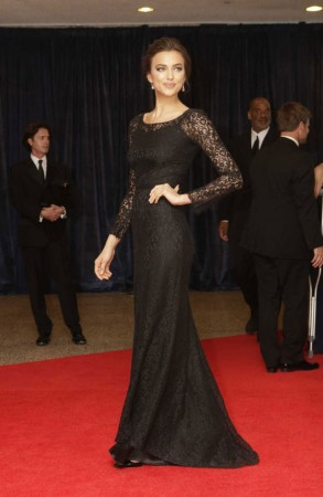 Irina Shayk Gets Lacy in Dolce & Gabbana at The 2013 White House Correspondents' Association Dinner