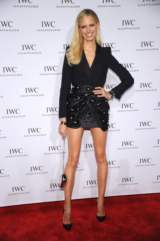Karolina Kurkova Wears Blumarine to the 'For the Love of Cinema' Celebration