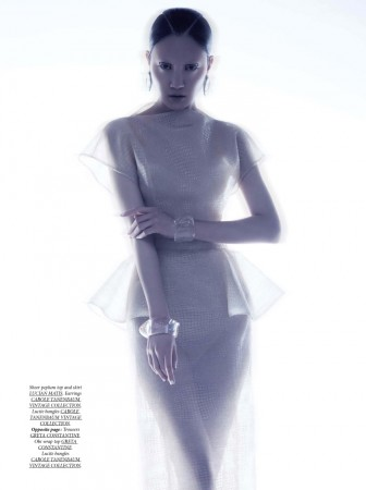 Ishie Wang is Ethereal for Dress To Kill Spring 2013 by Lily & Lilac