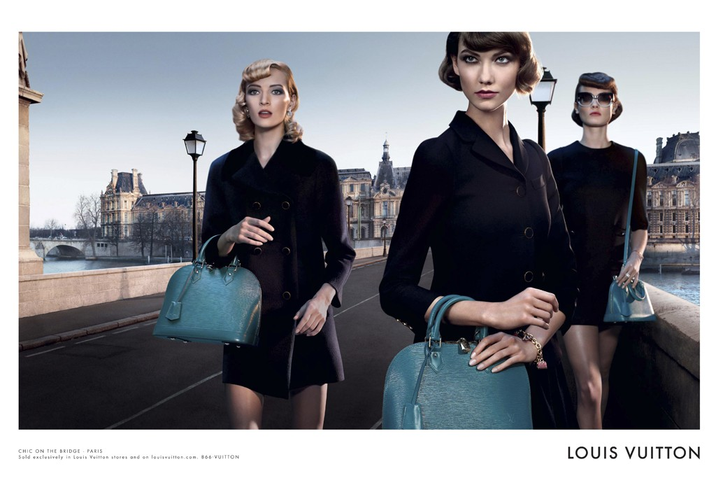 Louis Vuitton Enlists Karlie Kloss, Daria Strokous, Jac Jagaciak and Iris Strubegger for Alma Bag Campaign