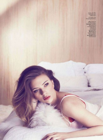 Scarlett Johansson Charms In Marie Claire US May 2013 by Txema Yeste