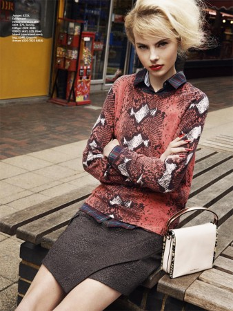 David Titlow Shoots Grown-Up Grunge for Stylist Magazine April 2013