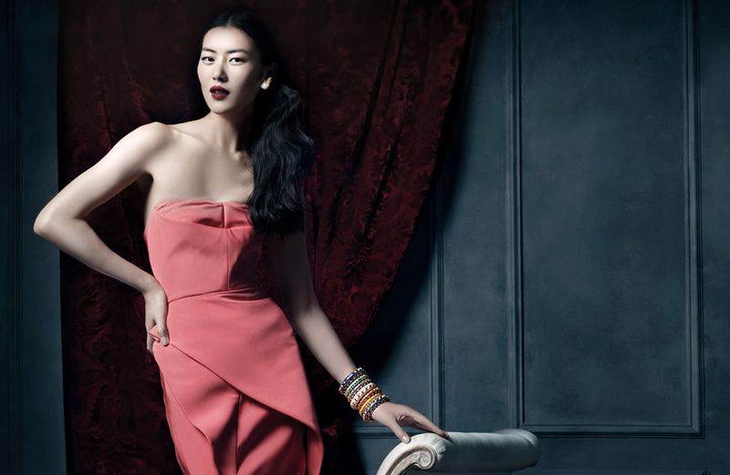 Liu Wen for Tiffany & Co. 2013 Campaign