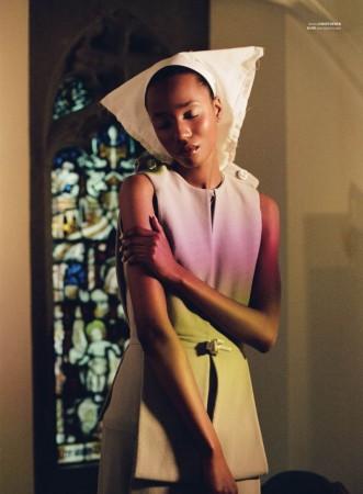 Nadja Giramata Models Pure Style for Jeff Hahn in Used Magazine