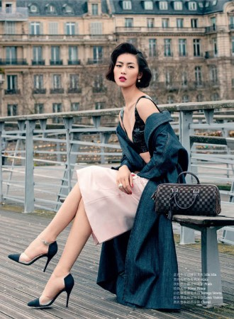 Liu Wen Dubbed First Asian Supermodel in OK! China Cover Shoot