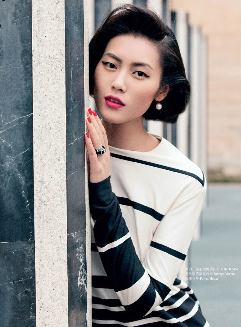 Liu Wen Dubbed First Asian Supermodel In Ok China Cover Shoot