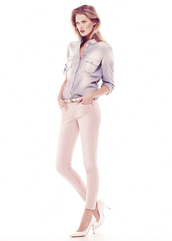 "Toni Garrn Stars in Mango ""Romantic Essence"" Summer 2013 Lookbook"
