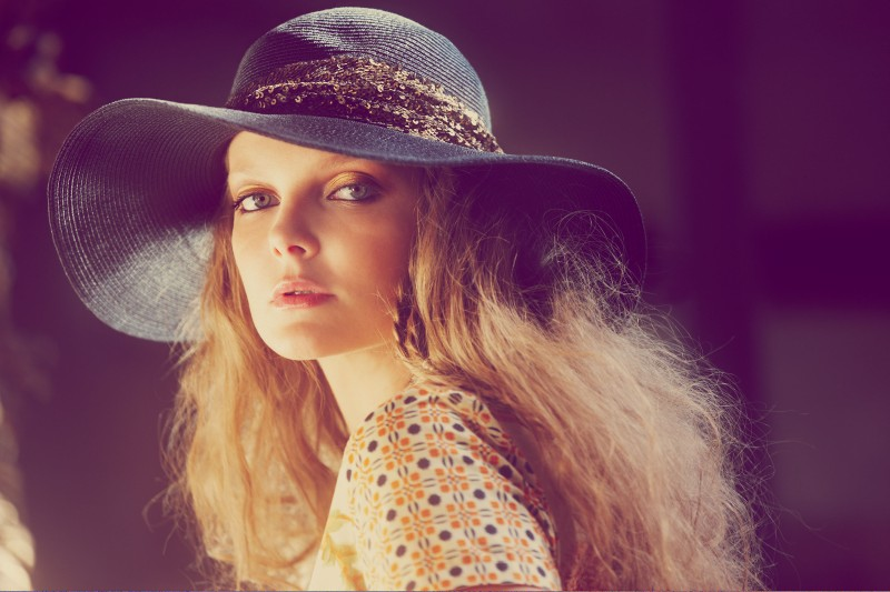 Eniko Mihalik Has a Bohemian Spring for Shopbop.com Shoot