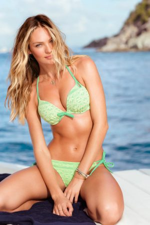 "Victoria's Secret Taps Candice Swanepoel, Erin Heatherton and Magdalena Frackowiack for ""Island Hopping"" Catalogue"