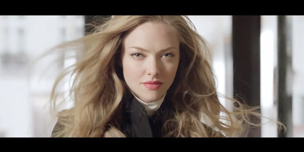 See Amanda Seyfried Star in Givenchy's Very Irresistible TV Spot