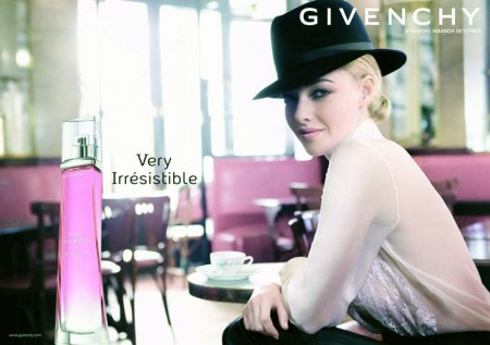 "Amanda Seyfried's Givenchy ""Very Irresistible"" Fragrance Campaign Revealed"