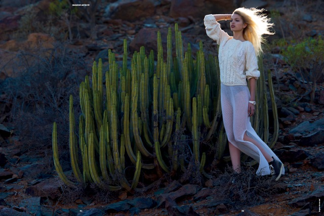 Catherine McNeil, Anna Selezneva, Jourdan Dunn, Daphne Groeneveld and More Pose for Hans Feurer in Antidote S/S 2013
