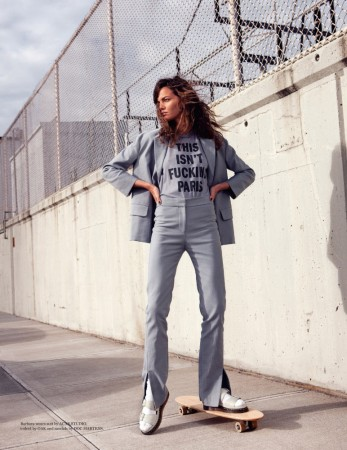 Barbara Fialho is Street Savvy for The Wild Magazine by Jeffery Jones