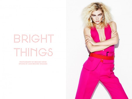 "Farah Holt by Brooke Nipar in ""Bright Things"" for Fashion Gone Rogue"